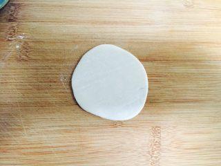 香蕉派(饺子皮版),取一张饺子皮