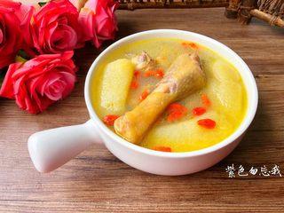 竹荪鸡汤,成品图三