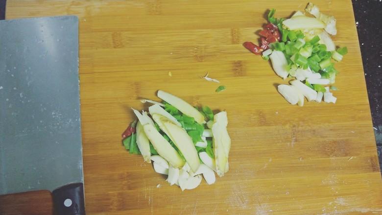 红烧泥鳅鲢胡,准备好食材