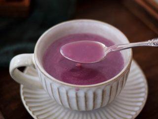 紫薯薏米银耳羹,图三