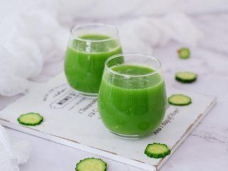 黄瓜汁,成品图