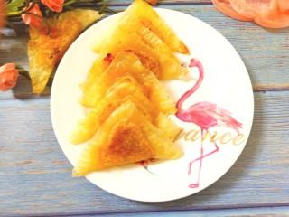菠萝酱三角包,成品图