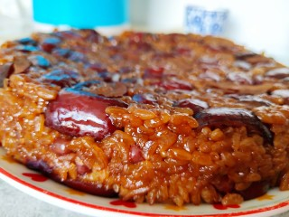超黏糯甄糕,开水上锅蒸一个小时,非常好脱模,黏糯好吃。