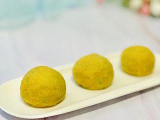 玉米面菜团子,金灿灿的 玉米面菜团子 简单快手 不用揉面,不用发面。