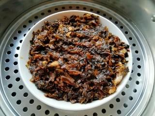 金牌天津扣肉,放入蒸锅大火蒸80分钟。