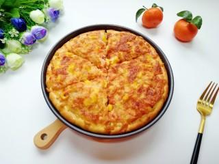 培根肉披萨,准备开吃啦!