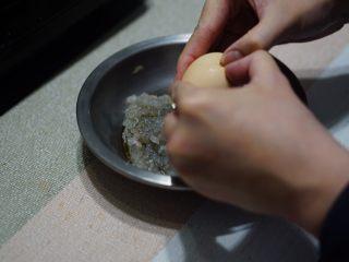 虾滑球(低淀粉大颗粒版),加入蛋清