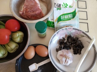 酸汤小酥肉,准备原料