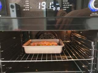 北极甜虾披萨,空气烤190度,烤20分钟