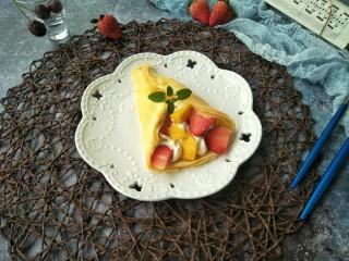 水果奶油卷