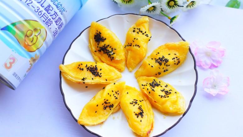 网红蛋挞皮芒果酥
