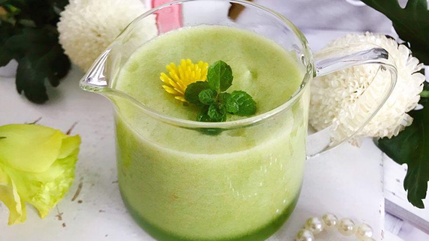属于春天的果汁~羊角蜜香梨汁