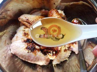 香烤鸡翅,蜂蜜。