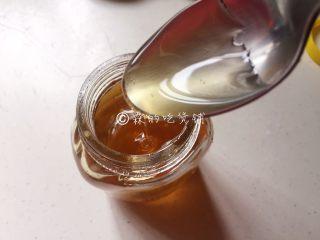 焦糖肉桂香蕉,蜂蜜。