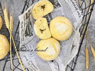 胡萝卜橙香蜂蜜面包,成品图