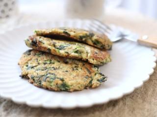 菠菜豆渣饼,素食早餐也能开启你能量满满的一天 !