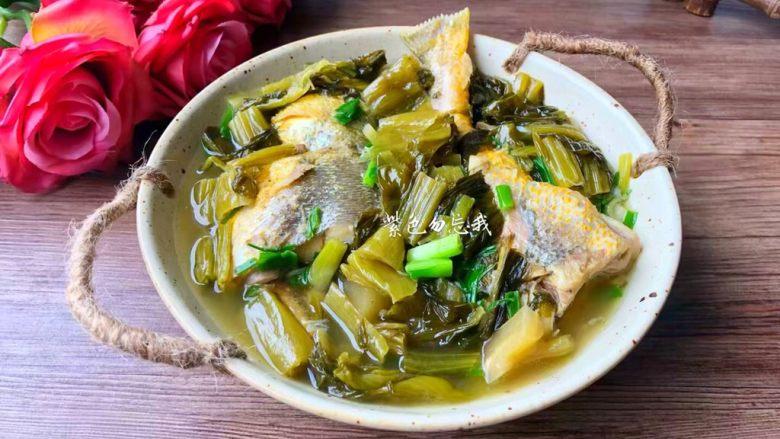 酸菜炖黄鱼