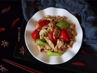 彩椒鸡胸肉,这道养颜的快手菜