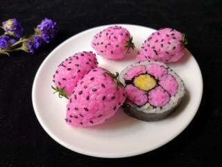 草莓饭团,越看越喜欢!
