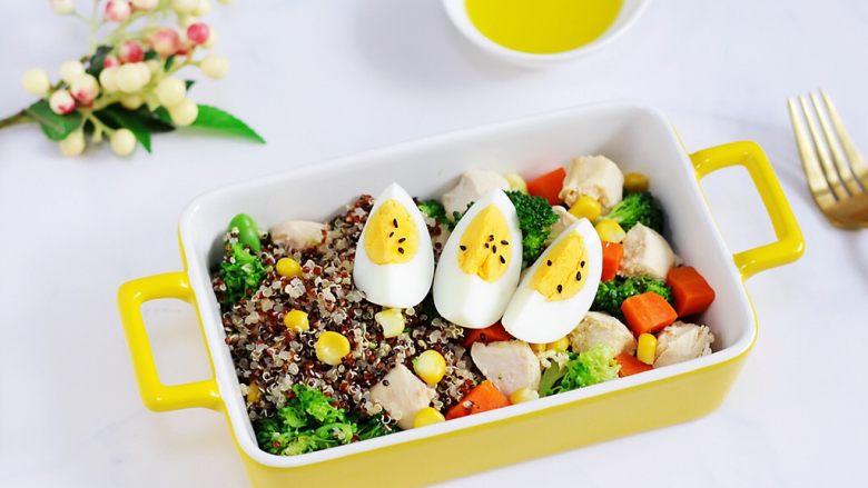 藜麦时蔬鸡胸肉沙拉