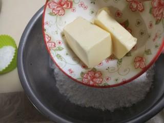 菠萝派,低粉加入室温软化的黄油