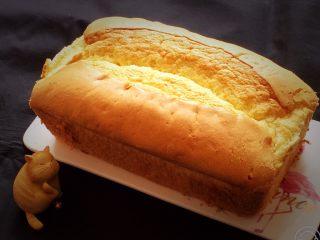 玉枕蛋糕+花生味,完美的玉枕蛋糕就出来了。