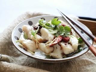 椒麻巴沙鱼,承包你的整个胃,成品图。