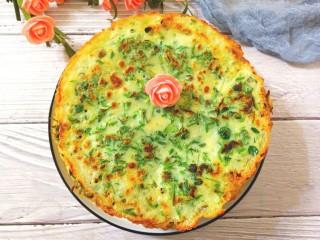 苜蓿菜饼,成品图