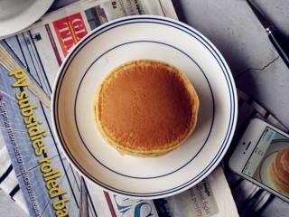 无糖无油的香蕉松饼,好香的松饼