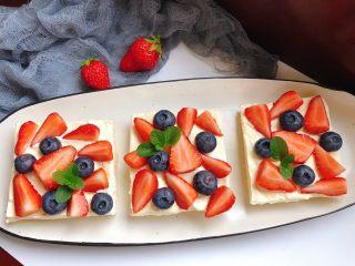 水果三明治,漂亮吧?