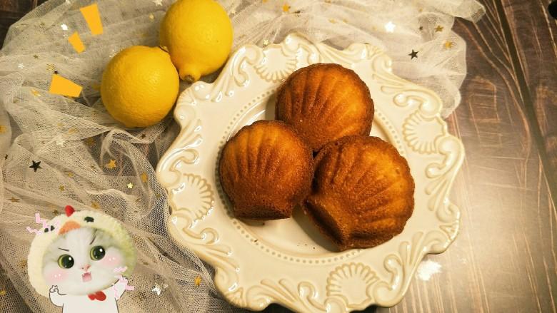 柠檬玛德琳蛋糕-入门级蛋糕
