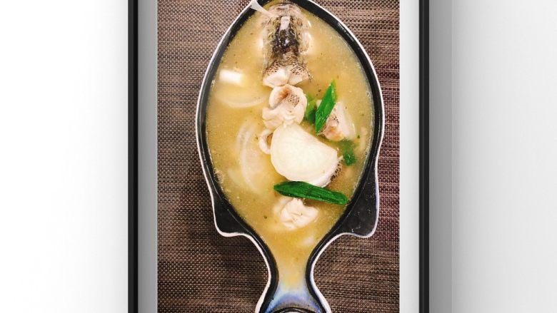 鲜美鲈鱼片汤