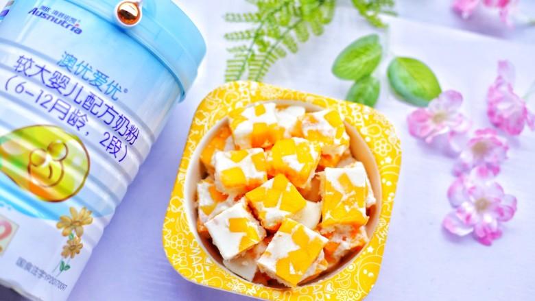 香甜爽滑的芒果牛奶布丁