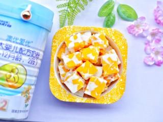 香甜爽滑的芒果牛奶布丁,颜值棒棒哒~