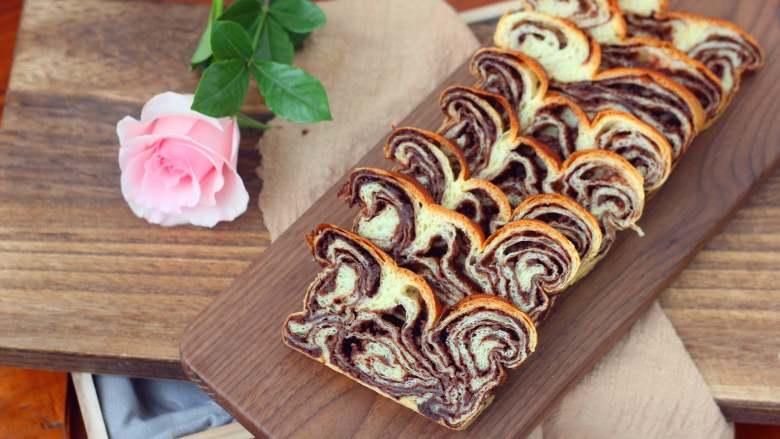 巧克力核桃面包