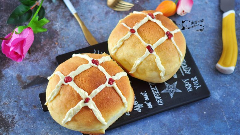 网红奶昔面包