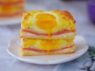 鸡蛋芝士爆浆吐司,图二