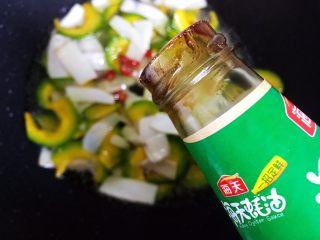 蚝油南瓜杏鲍菇,加适量蚝油