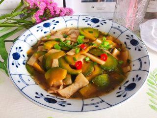 蚝油南瓜杏鲍菇,非常好吃