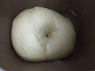 乳山喜饼,发酵至2倍大