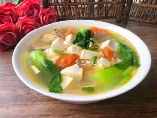 豆腐杂烩汤,成品图三