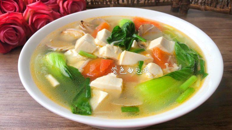 豆腐杂烩汤