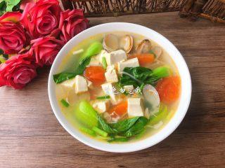 豆腐杂烩汤,成品图四
