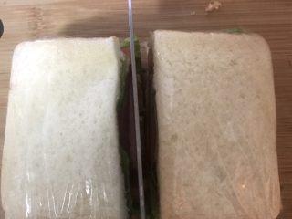 豪华三明治,一切二