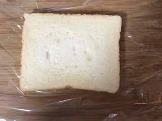 豪华三明治,放上一片吐司片
