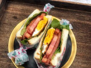 豪华三明治,完美