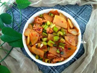 西芹土豆炒肉片