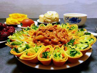 京酱肉丝,美好的早餐像花朵一样绽放