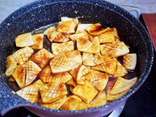 蚝油酱汁杏鲍菇,转大火收汁