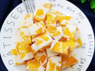 芒果牛奶布丁,开吃啦!